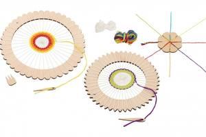 Bilde av Goki Craft set - round weaving loom and braid